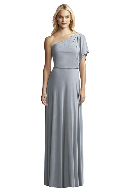 Jy Jenny Yoo JY512 One Shoulder Bridesmaid Dress