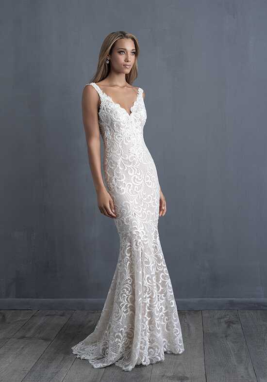 Allure Couture C484 Sheath Wedding Dress