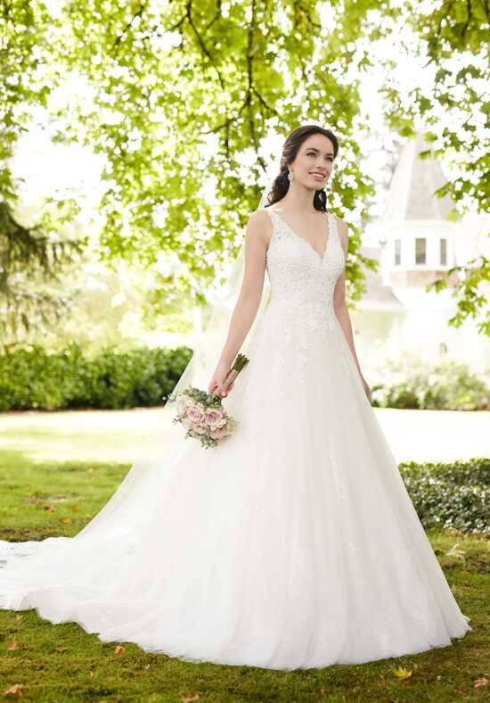 Martina Liana 834 A-Line Wedding Dress