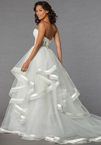 Pnina tornai for kleinfeld 4310 wedding dress the knot for Pnina tornai wedding dresses prices