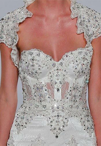 Pnina Tornai for Kleinfeld 4143 Sheath Wedding Dress