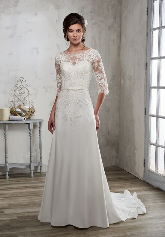 1 Wedding by Mary's Bridal 6595 A-Line Wedding Dress