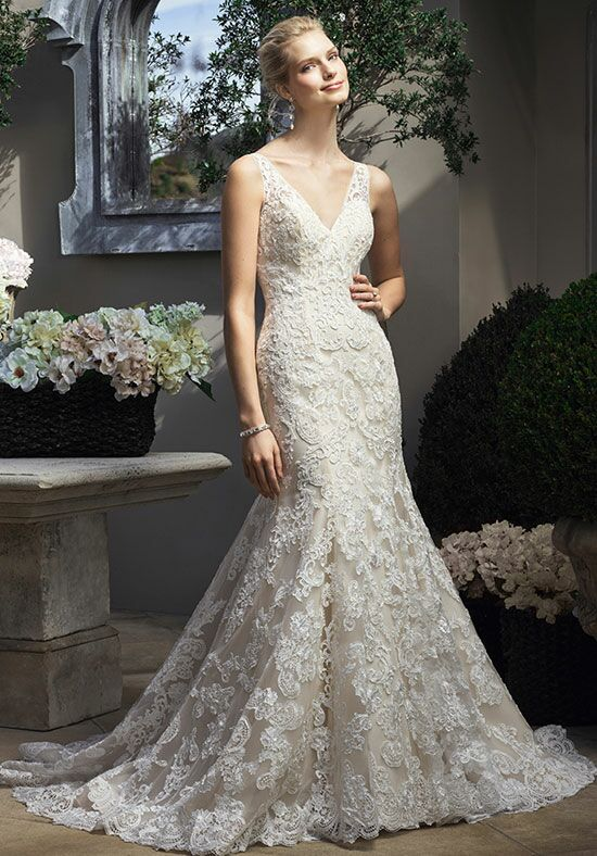 Casablanca Bridal 2206 Mermaid Wedding Dress