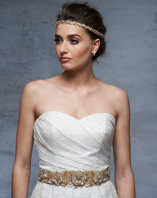 Blossom Veils BB2630 Gold Sashes + Belt