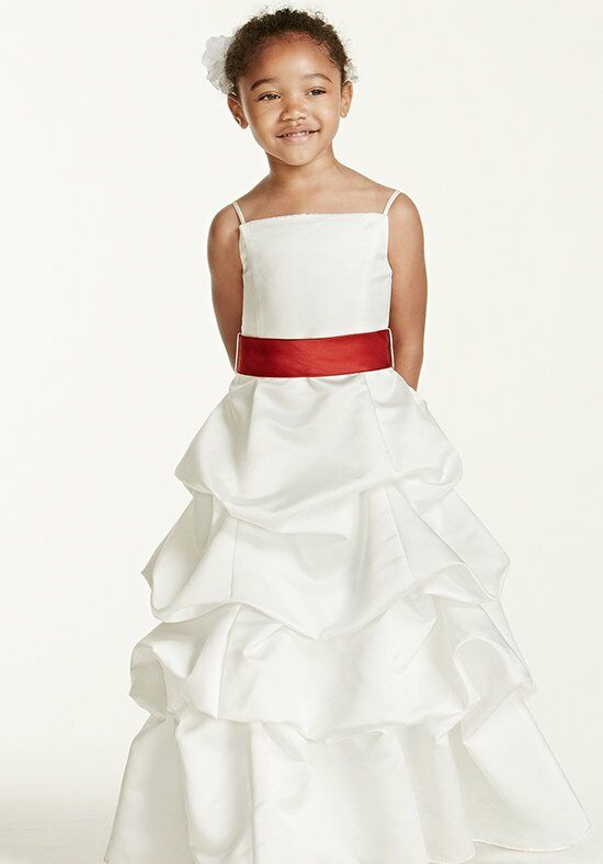 David's Bridal Flower Girl FG9309 Flower Girl Dress - The Knot