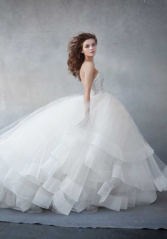 Lazaro 3608 Ball Gown Wedding Dress