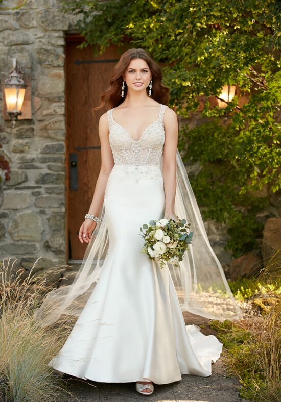 Essense of Australia D2294 Mermaid Wedding Dress