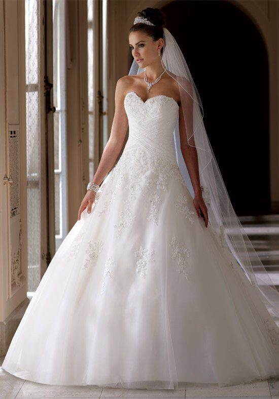 David Tutera for Mon Cheri 113219 Millie Ball Gown Wedding Dress