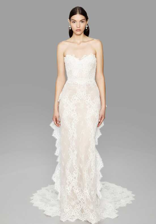 Marchesa Pearl Sheath Wedding Dress