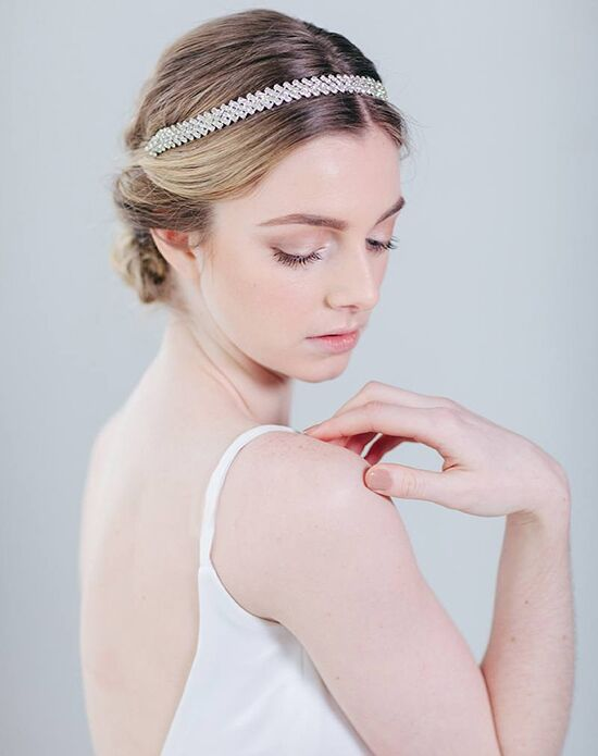 Davie & Chiyo | Hair Accessories & Veils Clara Headband Gold, Silver Headband