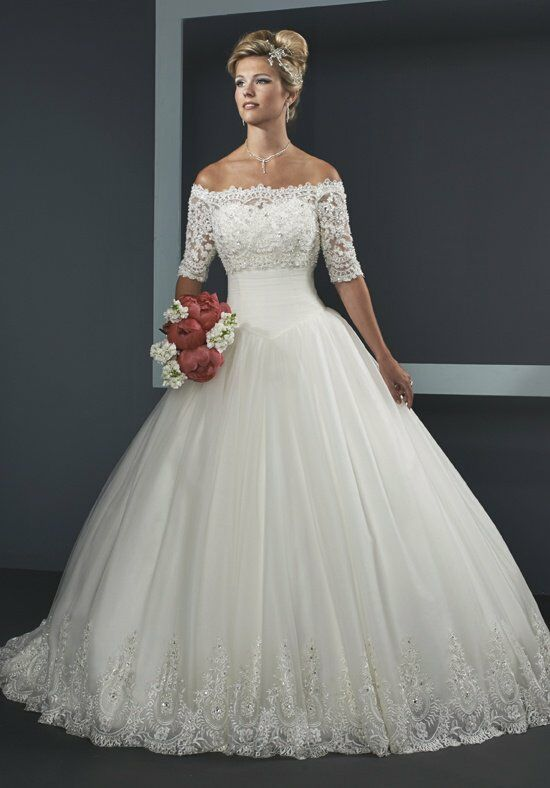 1 Wedding by Mary's Bridal 3Y294 Ball Gown Wedding Dress