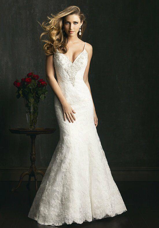 Allure Bridals 9060 A Line Wedding Dress