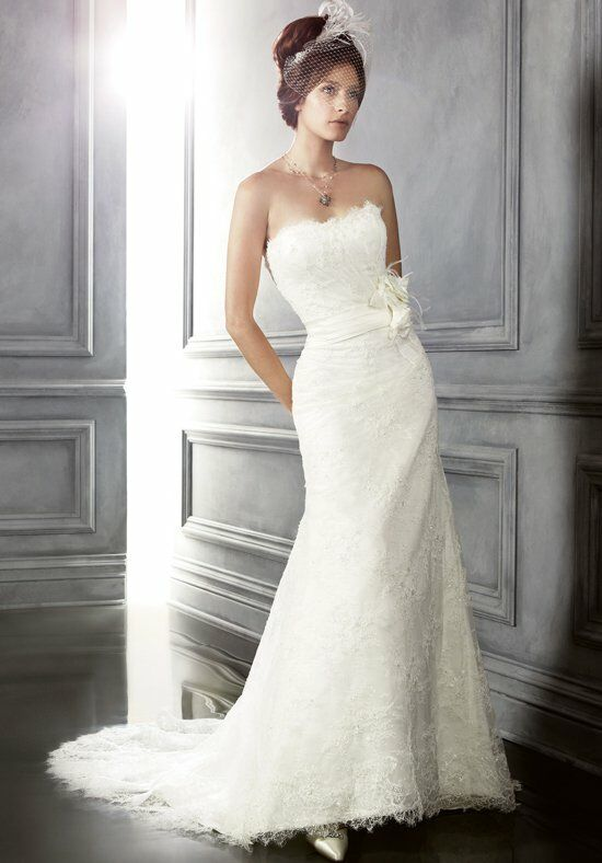 Cb couture b045 wedding dress the knot for Cb couture wedding dresses
