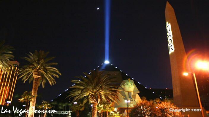 Picture of the light at luxor casino river casinos arizona