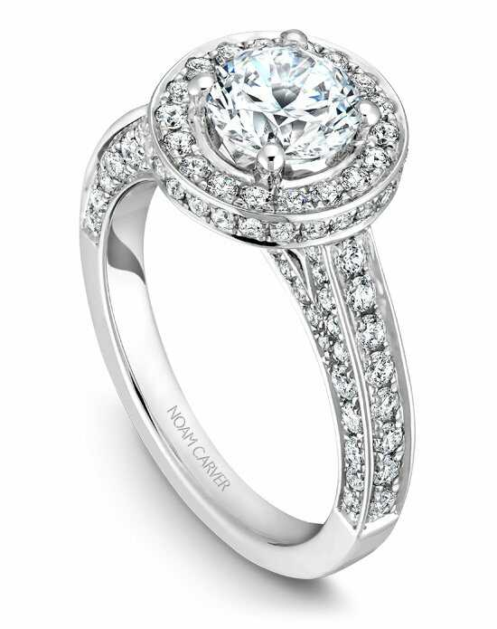 Noam Carver B030-01WS-100A Engagement Ring photo
