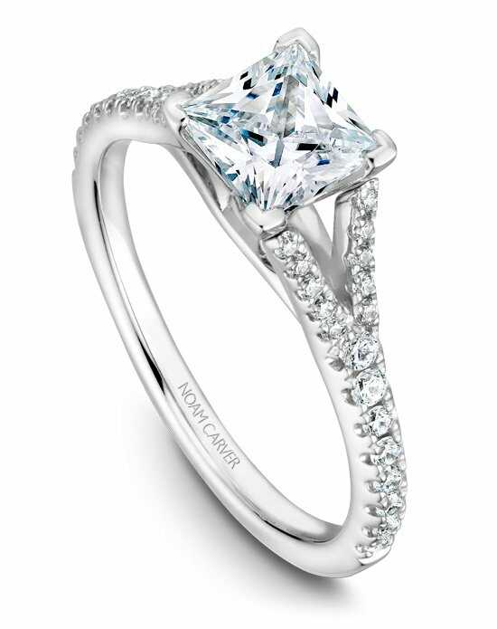 Noam Carver B093-01WS-100A Engagement Ring photo
