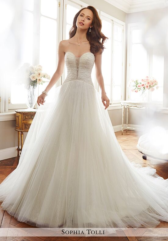 Sophia Tolli Y11703 Colette A-Line Wedding Dress