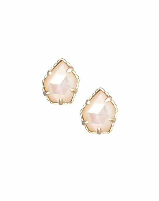 Kendra Scott Tessa Stud Earrings in Ivory Pearl Wedding Earring photo