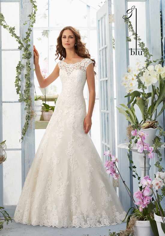 Morilee by Madeline Gardner/Blu 5410 A-Line Wedding Dress