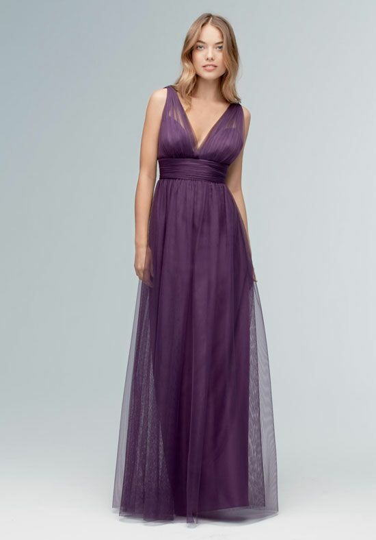 Wtoo Maids 145 V-Neck Bridesmaid Dress