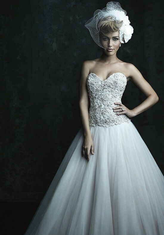Allure Couture C244 Ball Gown Wedding Dress