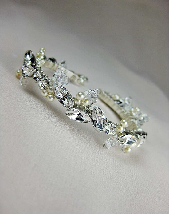 Everything Angelic Molly Cuff/Bangle - b185 Crystal Wedding Bracelet photo