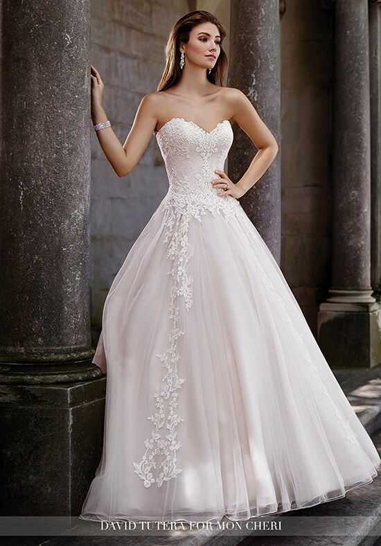 Martin Thornburg a Mon Cheri Collection 117267 Topaz A-Line Wedding Dress