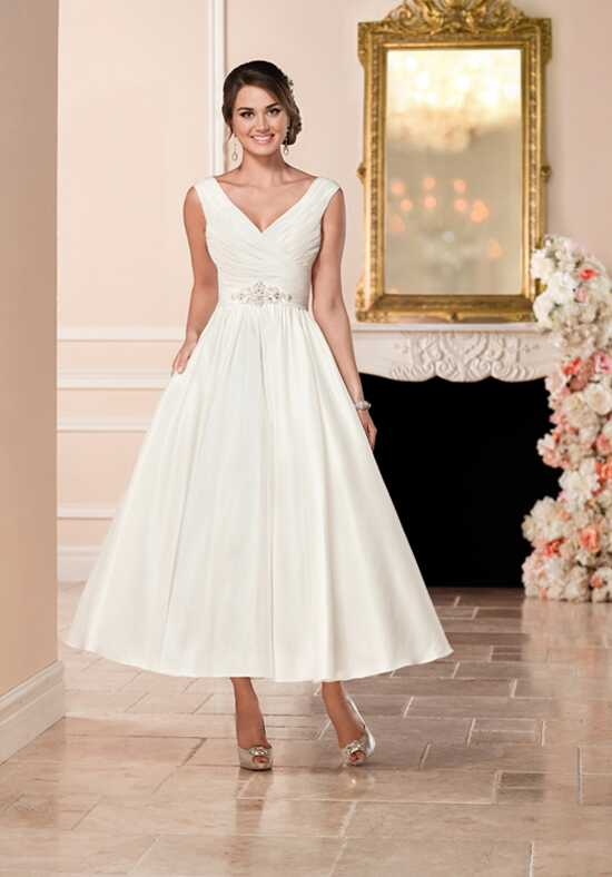 Tea Length Wedding Dresses - Mid Length Wedding Dresses