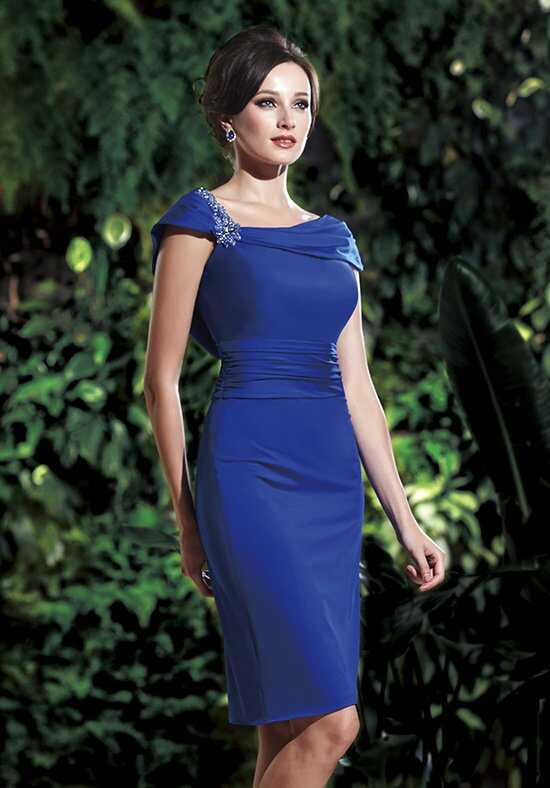 Jasmine Black Label M160014 Blue Mother Of The Bride Dress