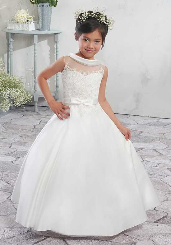 Mary's Angel by Mary's Bridal MB9007 Ivory Flower Girl Dress