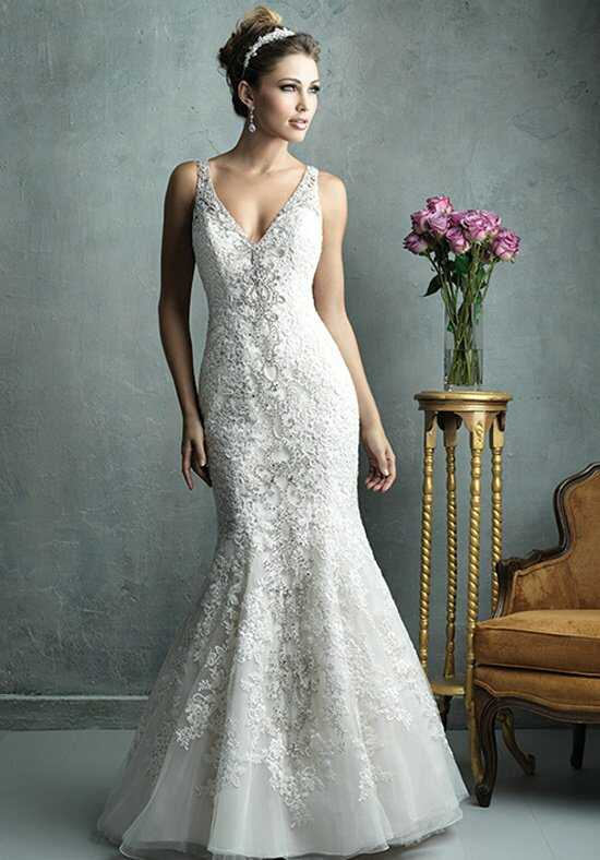 Allure Couture C322 Mermaid Wedding Dress