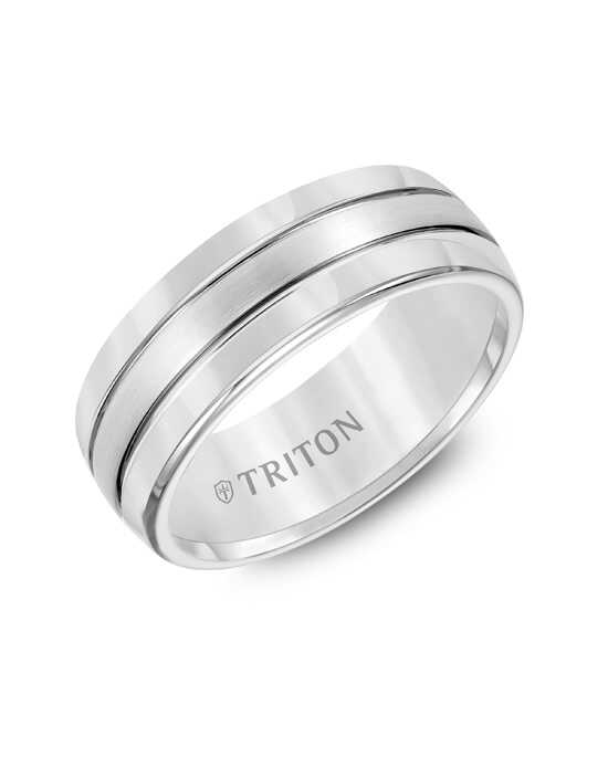 Triton 11-2926HC Tungsten Wedding Ring