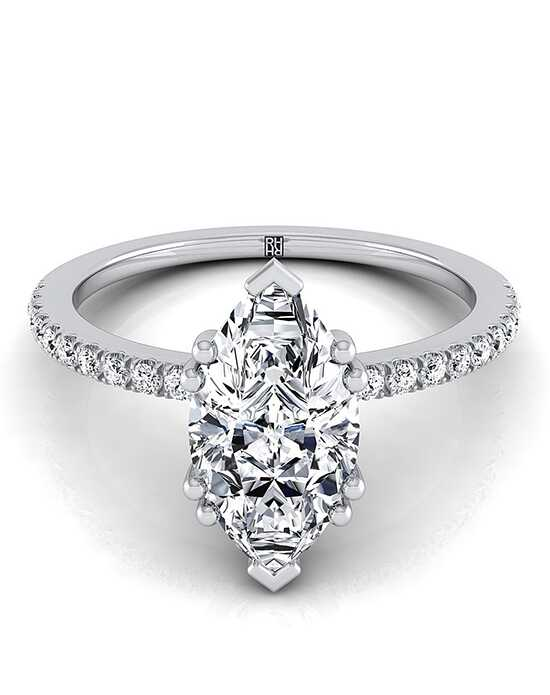 RockHer Classic Marquise Cut Engagement Ring