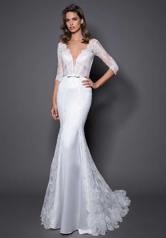 LOVE by Pnina Tornai for Kleinfeld 14564 Sheath Wedding Dress