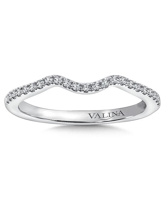 Valina RQ9775BW White Gold Wedding Ring