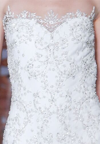 Reem Acra 4830 Mermaid Wedding Dress