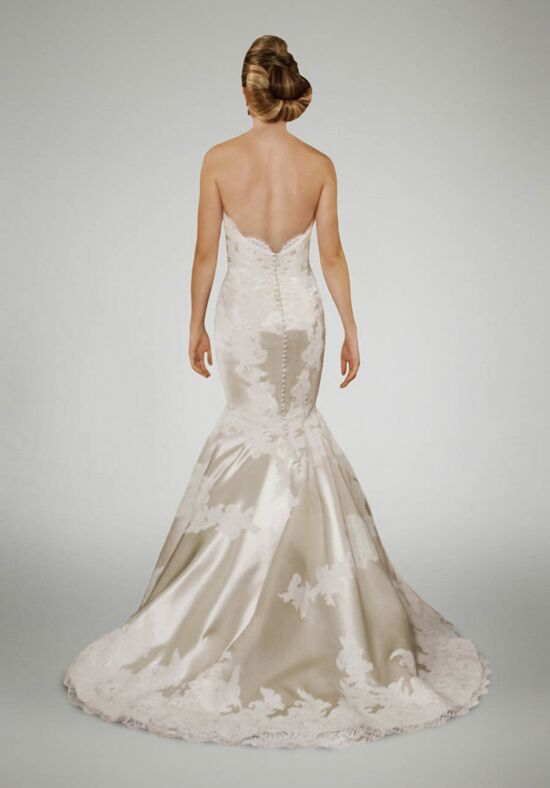 Matthew christopher duchess wedding dress the knot for Matthew christopher wedding dress prices