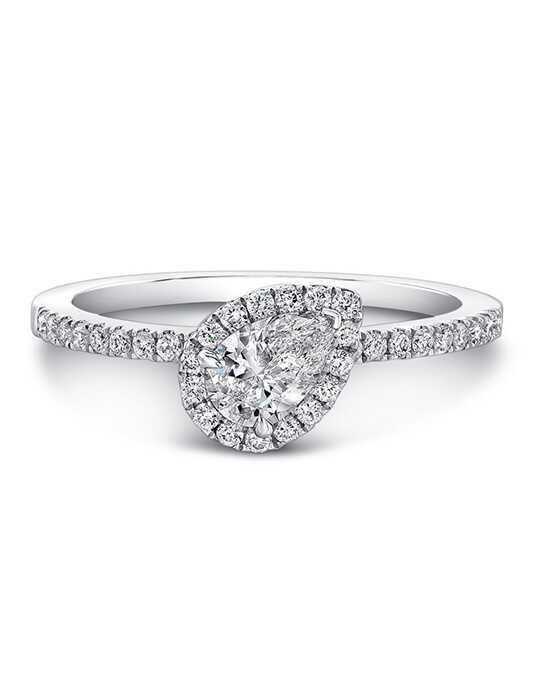 Forevermark Diamonds Pear Cut Engagement Ring