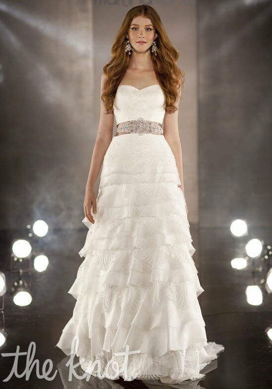 Martina Liana 358 A-Line Wedding Dress