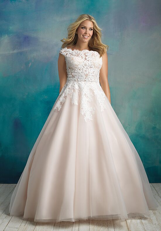 Allure Bridals W419 Ball Gown Wedding Dress