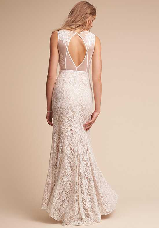 BHLDN Essence Sheath Wedding Dress