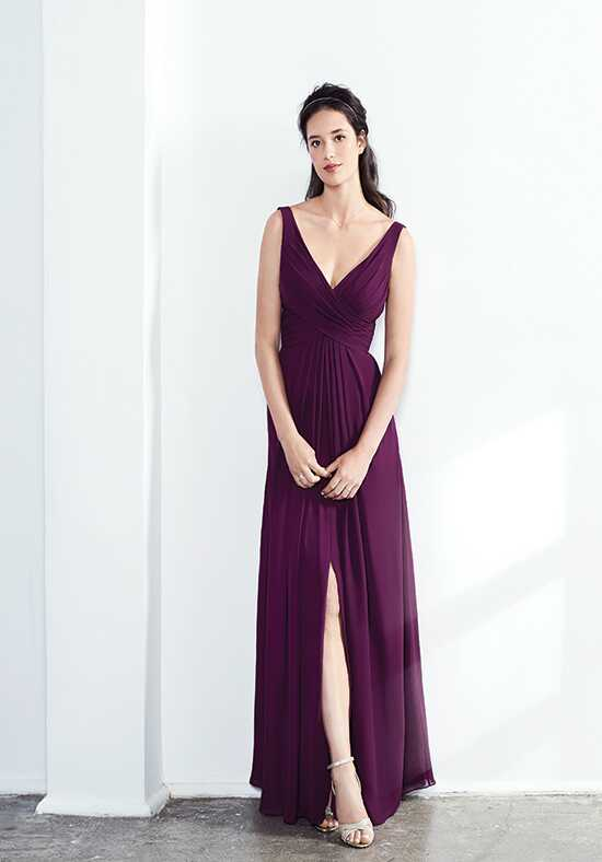 Colour by Kenneth Winston 5287L V-Neck Bridesmaid Dress