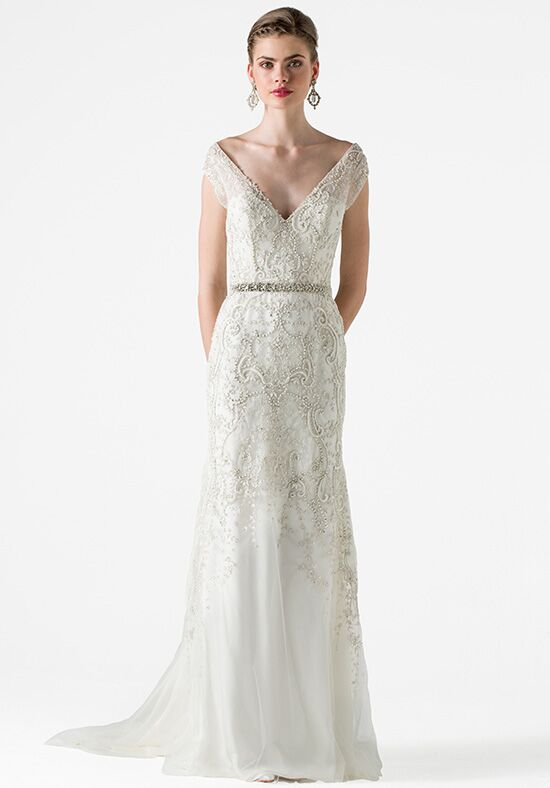 Anne Barge Garland Mermaid Wedding Dress