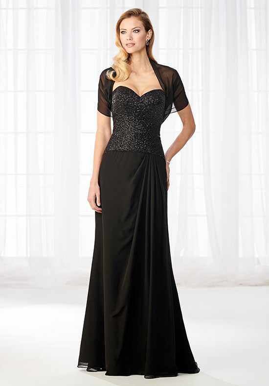 Cameron Blake 218630 Black Mother Of The Bride Dress