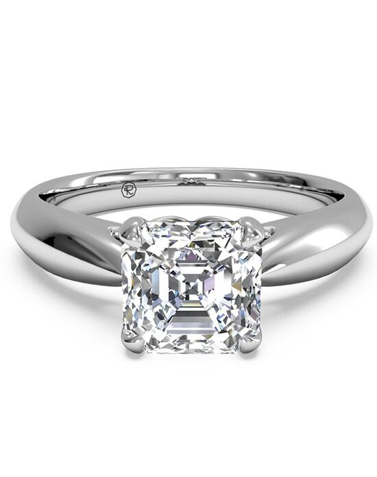 Ritani Classic Asscher Cut Engagement Ring