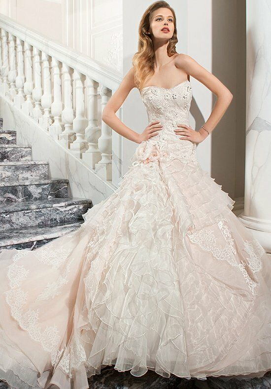 Demetrios C224 A-Line Wedding Dress