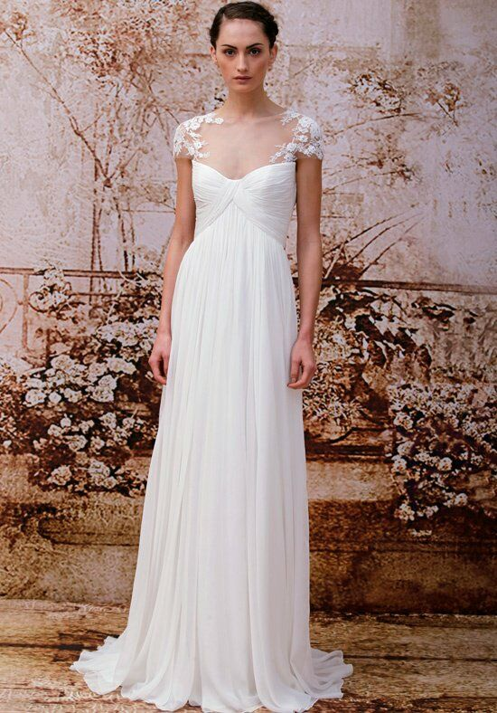 Monique Lhuillier Analise Ball Gown Wedding Dress
