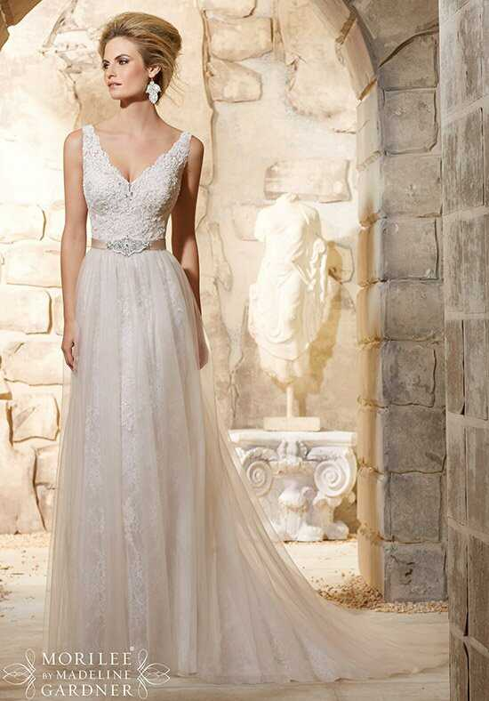 Morilee by Madeline Gardner 2780 Sheath Wedding Dress