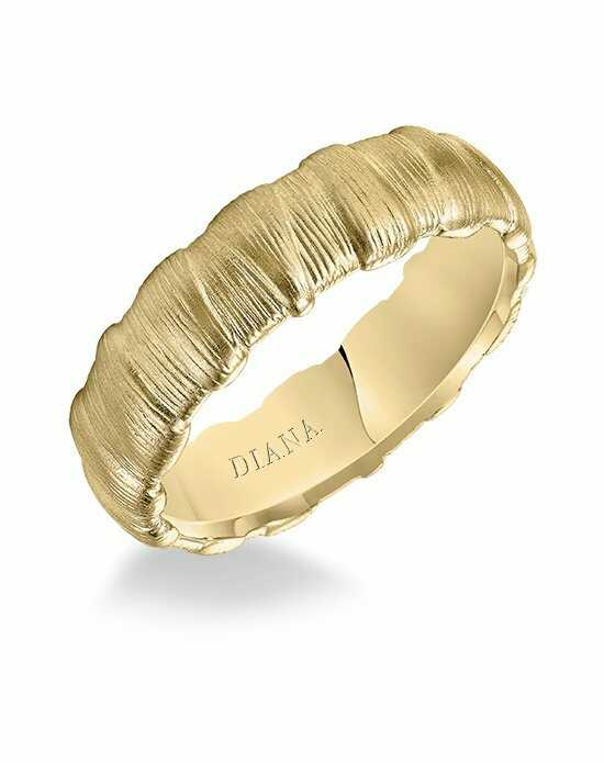 Diana 11-N84Y65-G Gold Wedding Ring