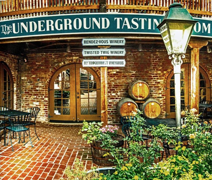 The underground tasting room sacramento ca